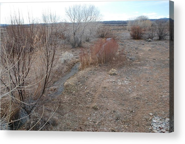 River Acrylic Print featuring the photograph The Mighty Santa Fe River by Rob Hans