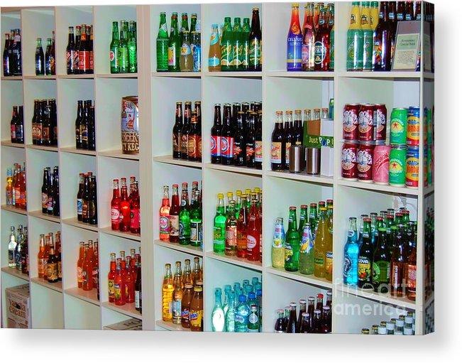 Soda Acrylic Print featuring the photograph The Soda Gallery by Debbi Granruth