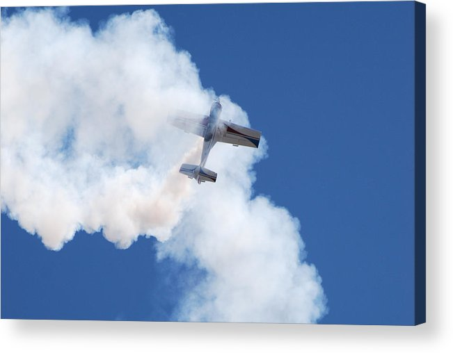 Aircraft Acrylic Print featuring the photograph The Stall by Larry Keahey