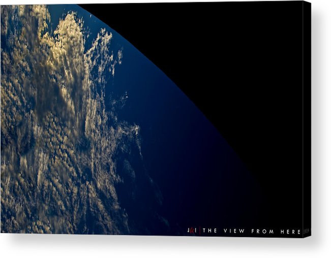 Earth Acrylic Print featuring the photograph The View From Here by Jonathan Ellis Keys
