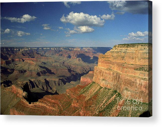 Grand Canyon Acrylic Print featuring the photograph This Is My Father's World by Kathy McClure