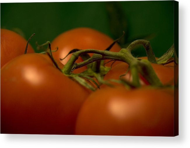 Tomatoes Acrylic Print featuring the photograph Tomatoes by Jessica Wakefield