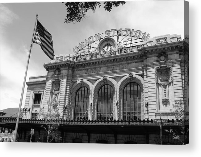 Archeticture Acrylic Print featuring the photograph Union by Brian Anderson