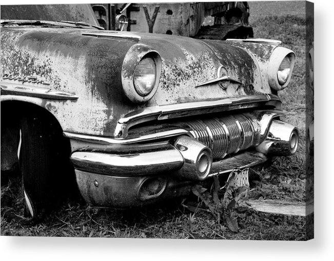 Vintage Cars Acrylic Print featuring the photograph Waiting by Jennifer Owen