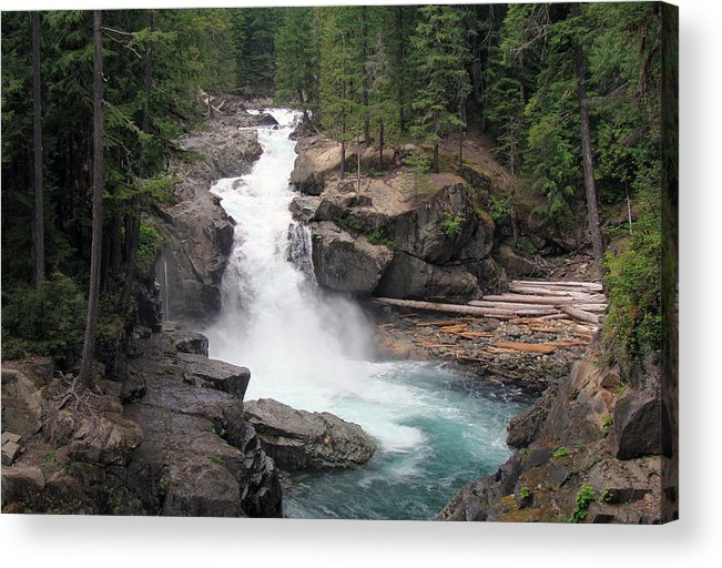 Waterfall Acrylic Print featuring the photograph Waterfall by Ty Nichols