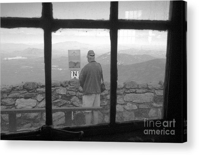 Windows Acrylic Print featuring the photograph Window On White Mountain by David Lee Thompson