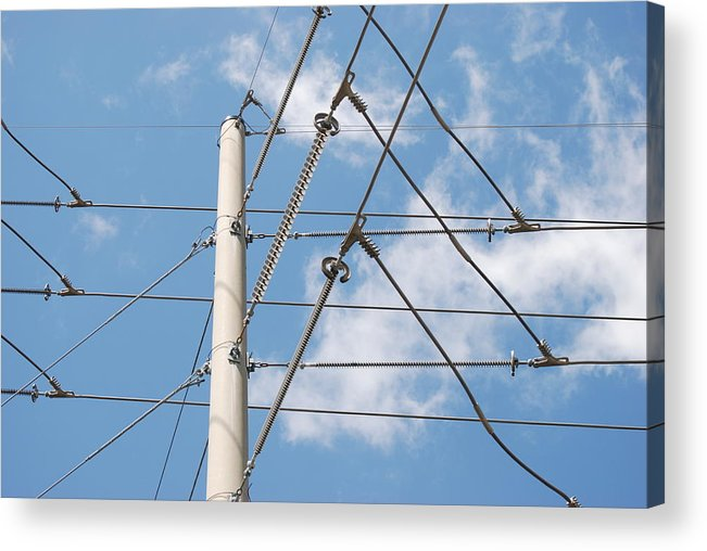 Sky Acrylic Print featuring the photograph Wired Sky by Rob Hans