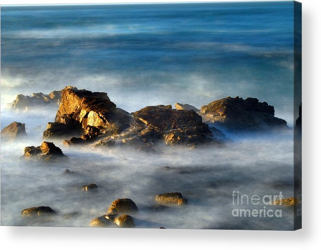 Rocks Acrylic Print featuring the photograph Yin And Yan by Catherine Lau