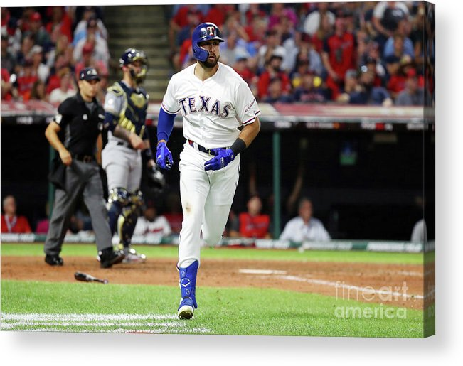 People Acrylic Print featuring the photograph 2019 Mlb All-star Game, Presented By 2 by Gregory Shamus