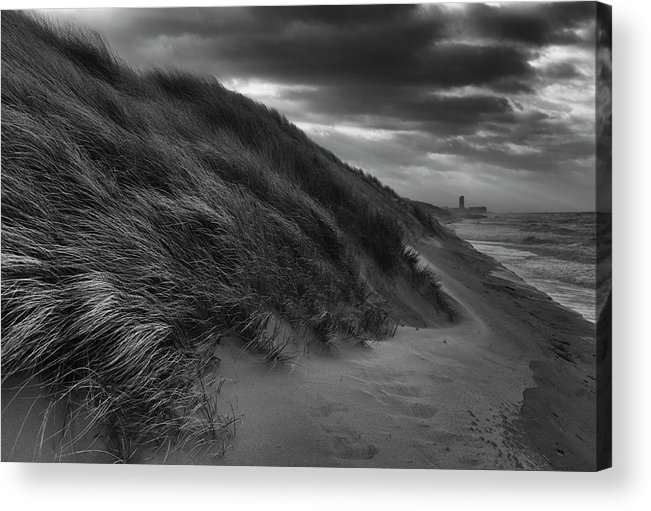 Landscape Acrylic Print featuring the photograph Any Way The Wind Blows by Eddy Verloes