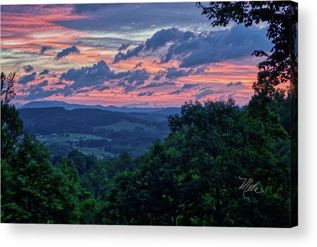 Sunrise Acrylic Print featuring the photograph Memorial Day Sunrise by Meta Gatschenberger