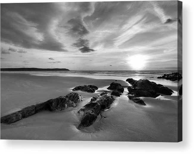 Beach Acrylic Print featuring the photograph Beach 38 by Ingrid Smith-Johnsen