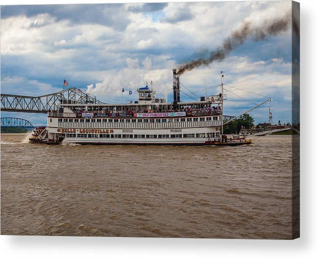 Belle Of Louisville Acrylic Print featuring the photograph Belle Of Louisville by James Guest