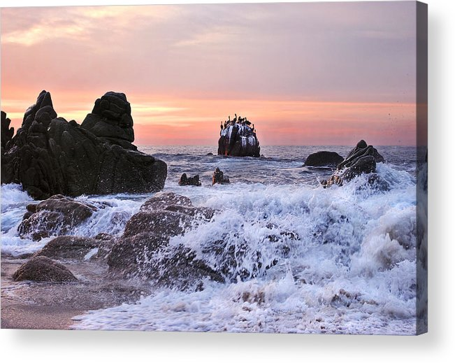 Landscape Acrylic Print featuring the photograph Cabo Sunrise by Marcia Colelli