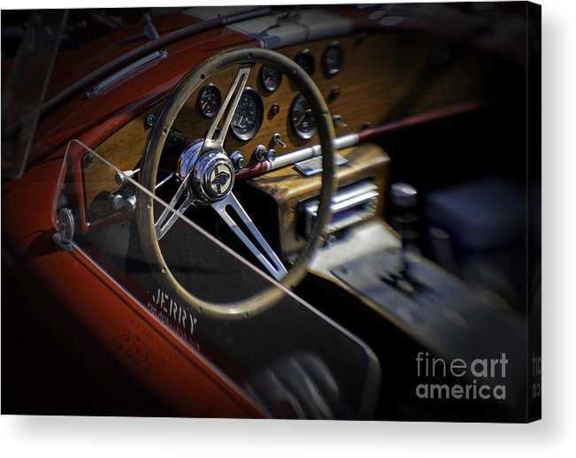 Black Top Acrylic Print featuring the photograph Cobra by Fred Lassmann