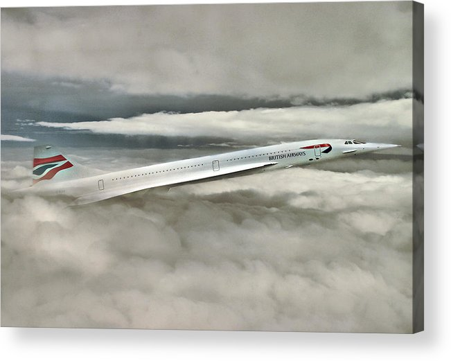 Concord Acrylic Print featuring the digital art Concord Picking Up by Yury Malkov