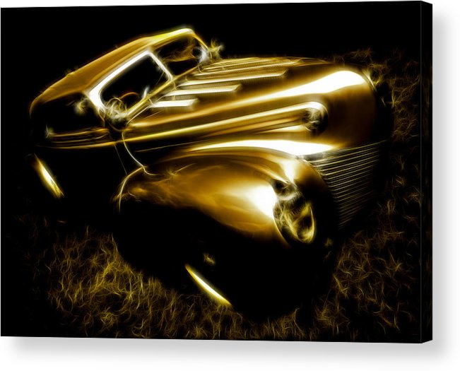 39 Ford Acrylic Print featuring the photograph Custom Ford Roadster by Phil 'motography' Clark