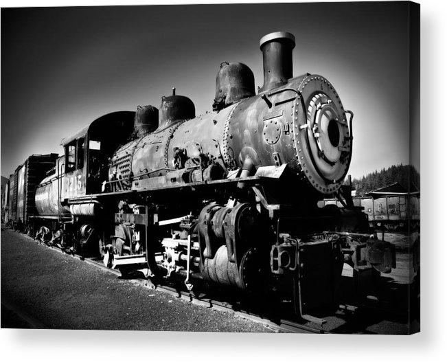 Train Acrylic Print featuring the photograph Engine 1215 by Mick Burkey