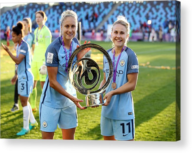 Manchester City Women V Birmingham City Ladies - Fa Wsl Continental Tyres  Cup - Final - City Academy Stadium Acrylic Print