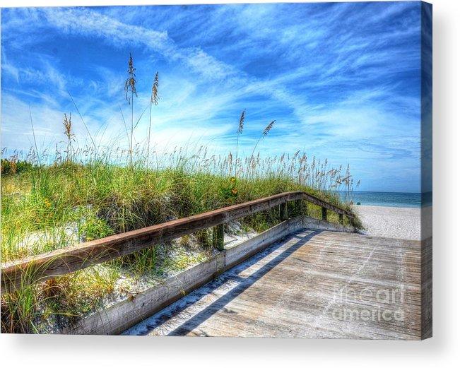 Beach Acrylic Print featuring the photograph St. Pete Beach by Debbi Granruth