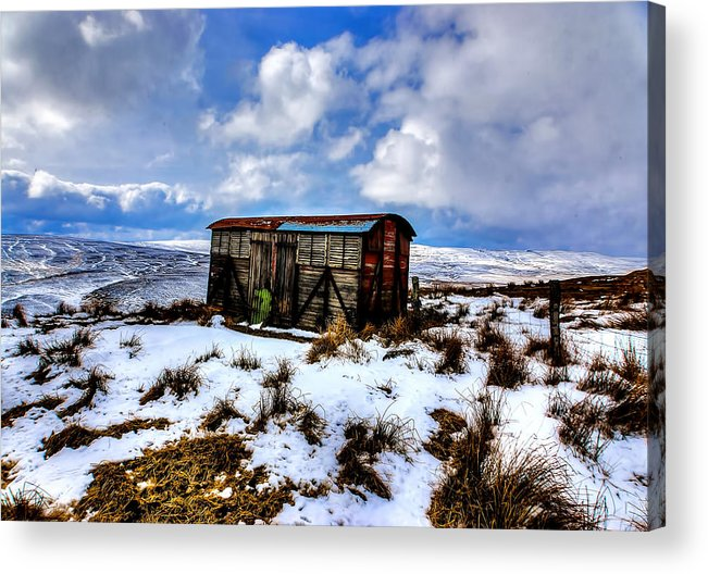Swaledale Acrylic Print featuring the photograph Swaledale Storage by Trevor Kersley