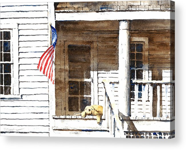 4th Of July Acrylic Print featuring the painting The 5th Of July by William Beaupre