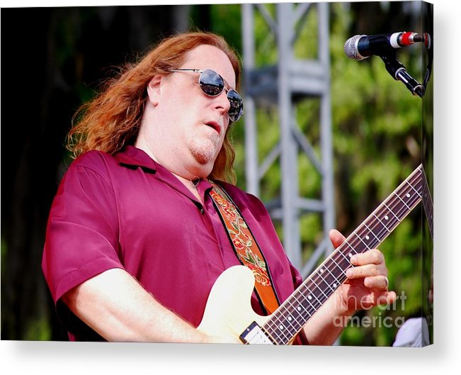 Music Acrylic Print featuring the photograph Warren Haynes by Angela Murray