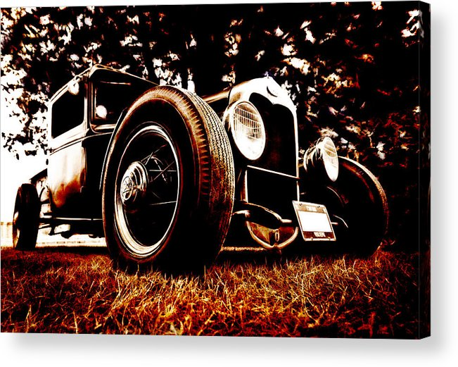 Hot Rod Acrylic Print featuring the photograph 29 Ford Pickup by Phil 'motography' Clark
