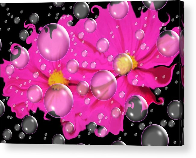 Cosmos Acrylic Print featuring the photograph Cosmos In Space.... by Tanya Tanski