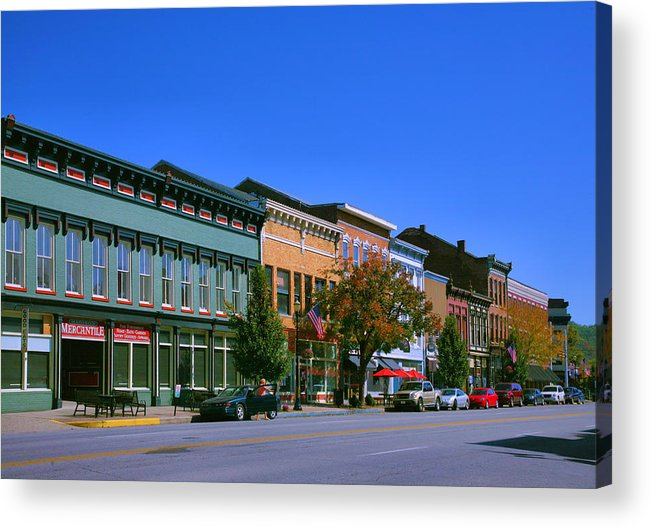 City Acrylic Print featuring the photograph Downtown Madison I by Steven Ainsworth