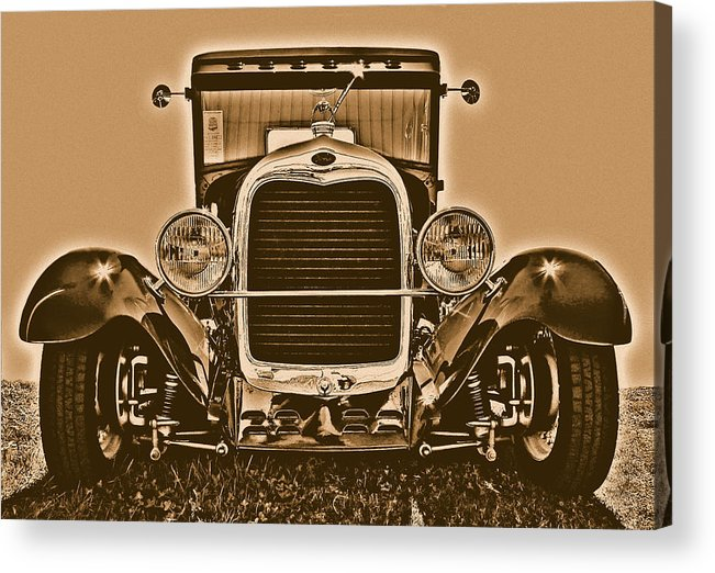 Classic Acrylic Print featuring the photograph Ford by Jason Leonti