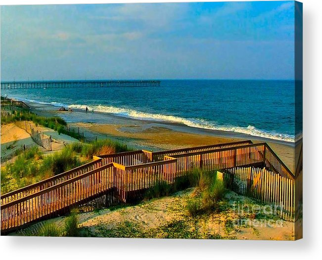 Acrylic Print featuring the photograph Rodanthe On The Outer Banks by Julie Dant