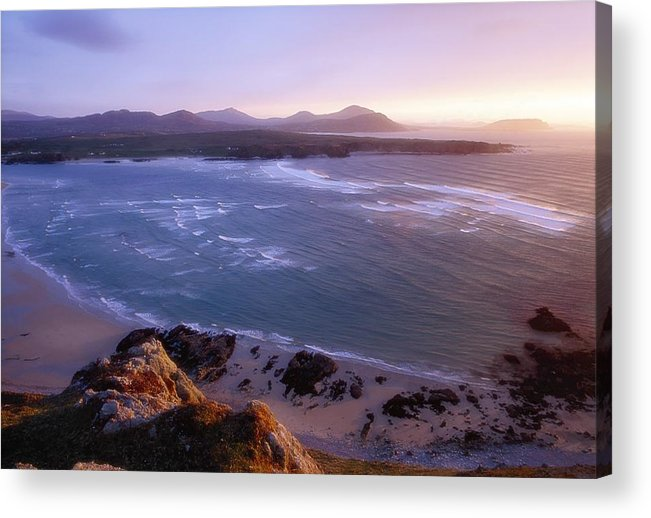 Attraction Acrylic Print featuring the photograph Trawbreaga Bay, Inishowen Peninsula by Gareth McCormack