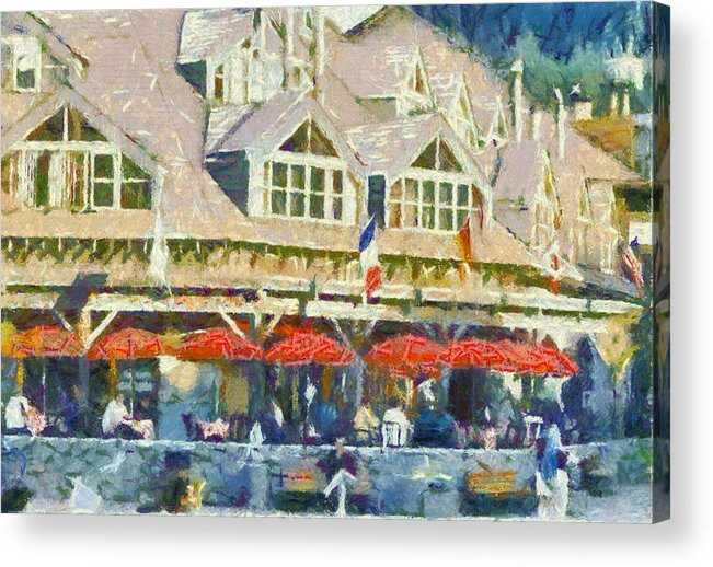 Whistler Acrylic Print featuring the photograph Whistler One by Dale Stillman