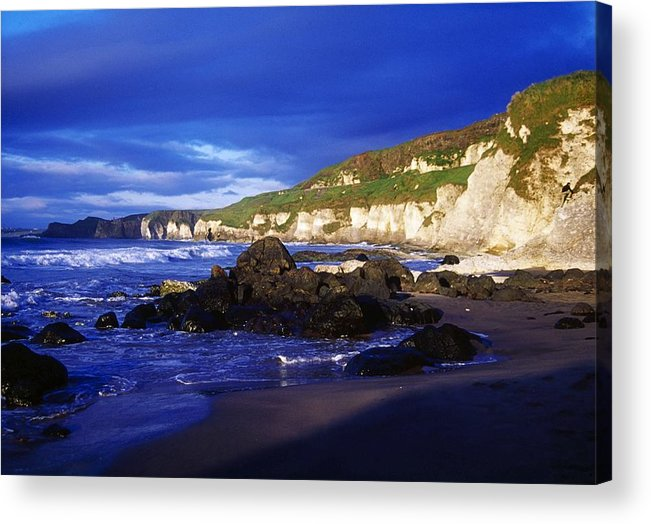 Attraction Acrylic Print featuring the photograph White Rocks Strand, County Antrim by Gareth McCormack