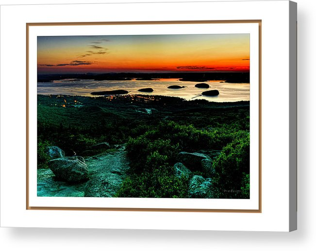 04-landscape Acrylic Print featuring the photograph Sunrise by Myer Bornstein