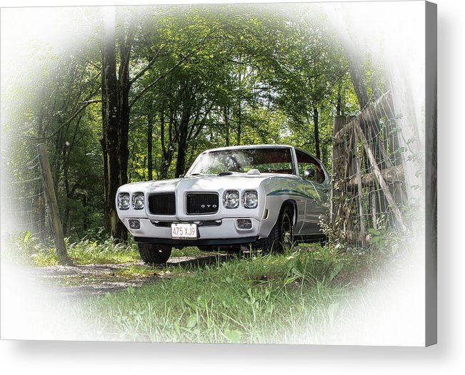 Gto Acrylic Print featuring the photograph Classic Cars by Mickie Bettez