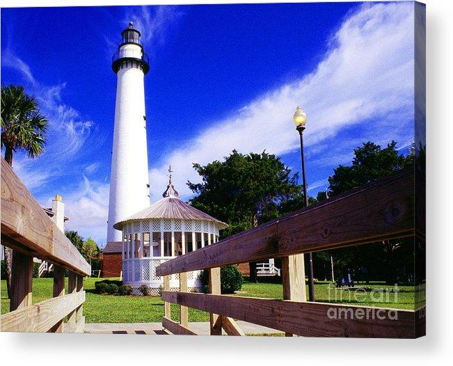 Georgia Acrylic Print featuring the photograph St Simons Island Lighthouse by Thomas R Fletcher
