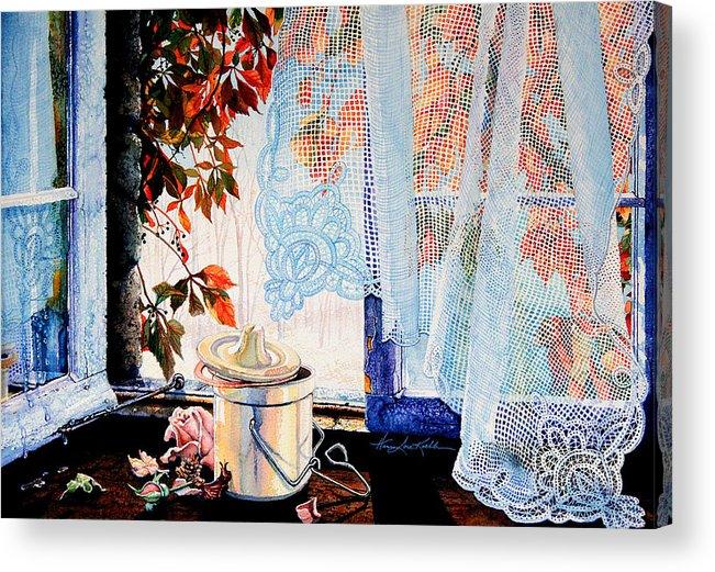 Autumn Aromas Acrylic Print featuring the painting Autumn Aromas by Hanne Lore Koehler