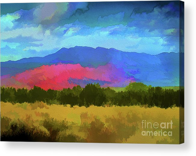 Colorado Acrylic Print featuring the photograph Colorado Mountains by Jennifer Stackpole