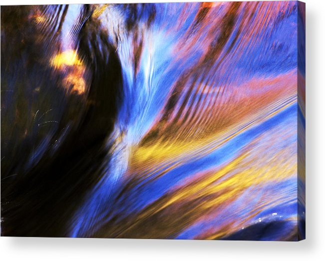 Water Acrylic Print featuring the photograph Fall Water by Joanne Baldaia