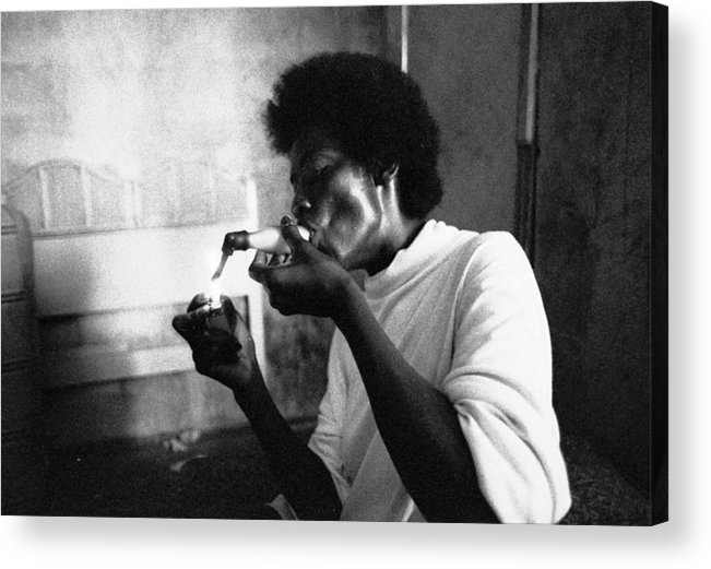 Cocaine Acrylic Print featuring the photograph Fast Black Smokes Crack by Michael L Kimble