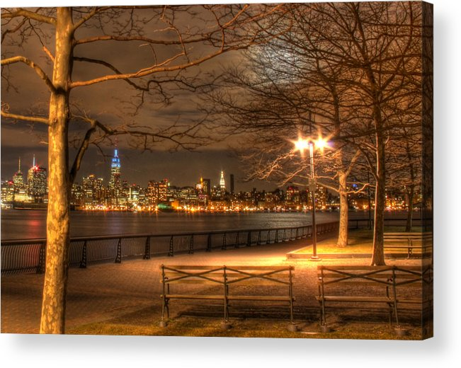 Frank Sinatra Acrylic Print featuring the photograph Frank Sinatra Park by Lee Dos Santos