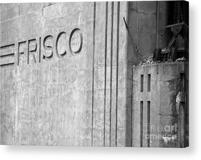Landscape Acrylic Print featuring the photograph Frisco Lines by Fred Lassmann