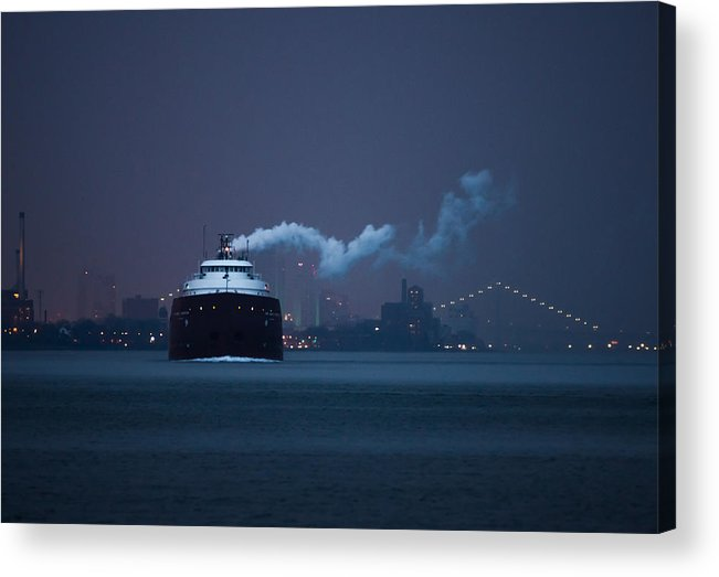 Boat Acrylic Print featuring the photograph Hon. James L. Oberstar by Cale Best