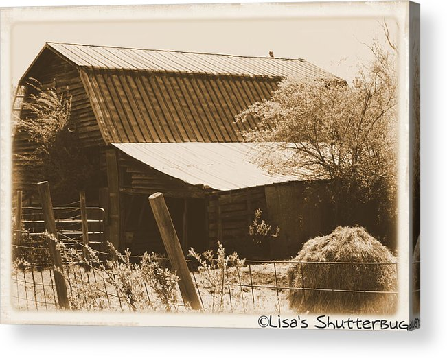 Barn Acrylic Print featuring the photograph Mcdonald 1 by Lisa Johnston
