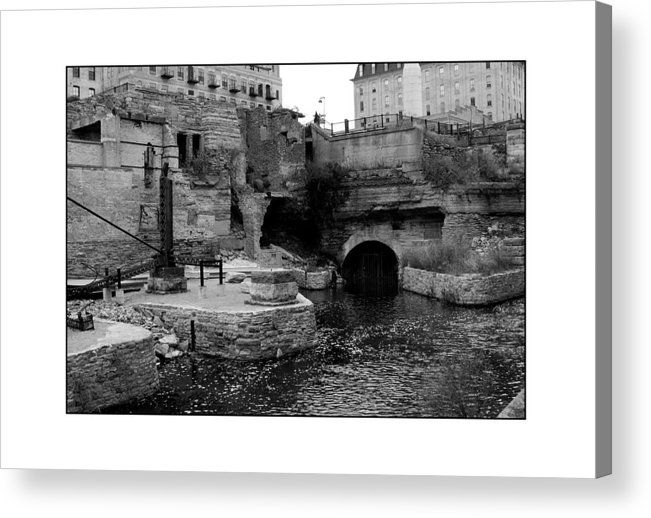 Mill Acrylic Print featuring the photograph Mill Ruins by Filipe N Marques
