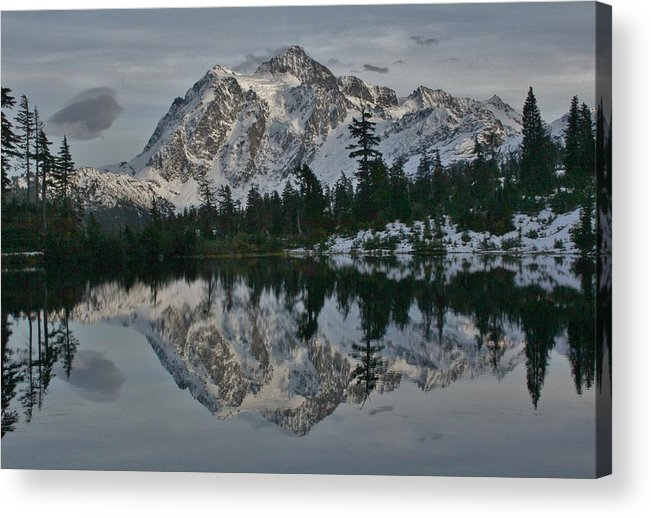 Mirror Acrylic Print featuring the photograph Mirrored Beauty by Todd Humphrey