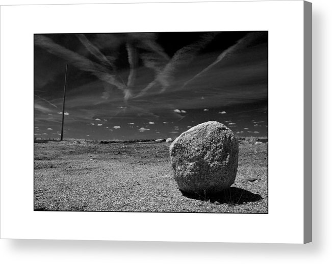 Landscape Acrylic Print featuring the photograph Rock by Filipe N Marques
