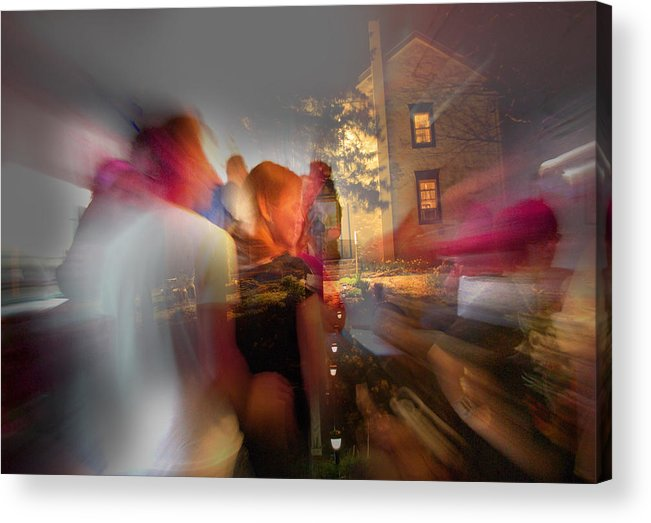 When Night Falls Acrylic Print featuring the photograph The Night Gerald Turned 60 by Jay Ressler